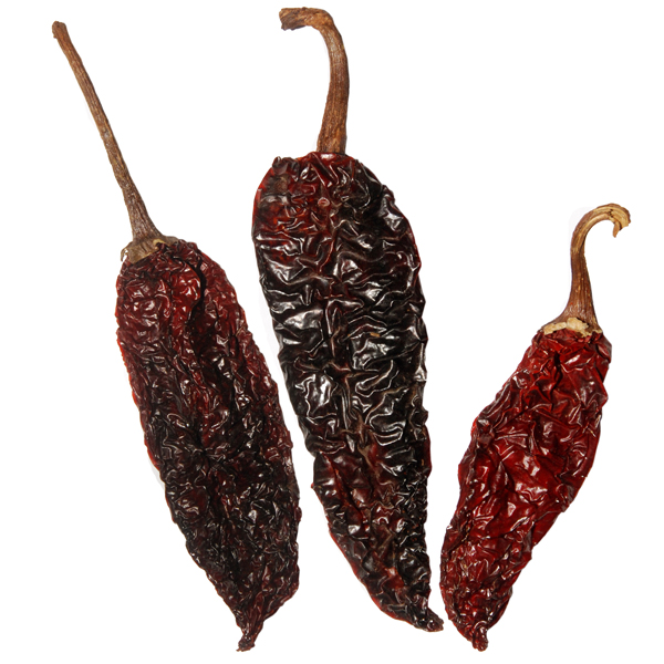 DRIED PASILLA PEPPER MEXICAN FOOD PRODUCTS US1 - PASILLA PEPPERS (click image to view )