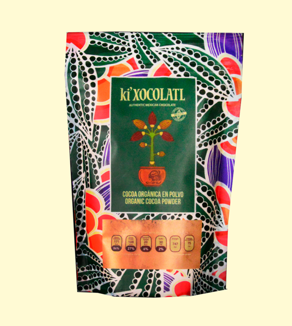 cocoa organica 600x668 - CACAO RAW PURE POWDER