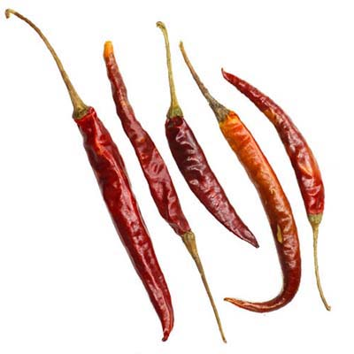 arbol chile peppers mexican food products 1 - ARBOL CHILE PEPPER DRIED